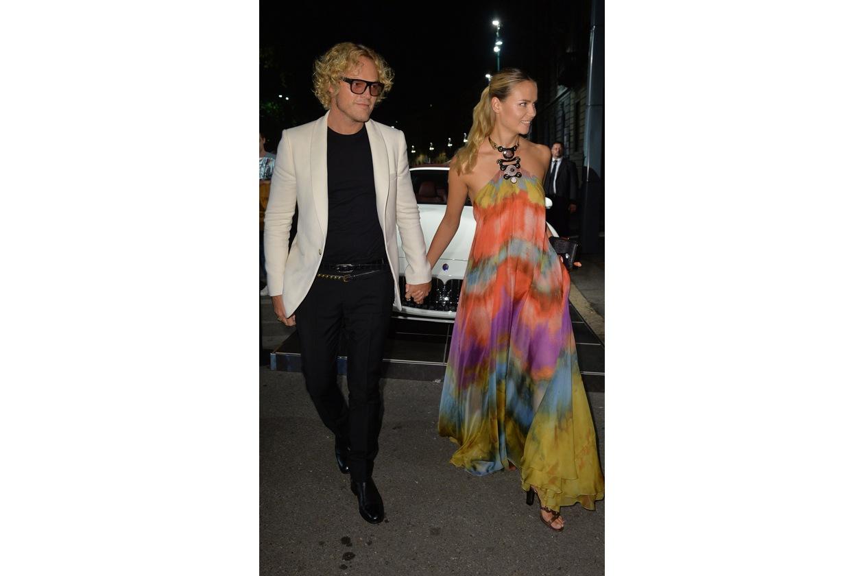 "Maserati partner ufficiale della mostra ""Vogue Archive Celebrating 50th Anniversary of Fashion"" Peter Dundas, Natasha Poly"