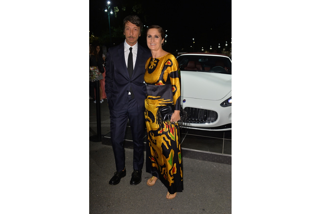"""Maserati partner ufficiale della mostra """"Vogue Archive Celebrating 50th Anniversary of Fashion"""" Pierpaolo Piccioli, Maria Grazia Chiuri"""