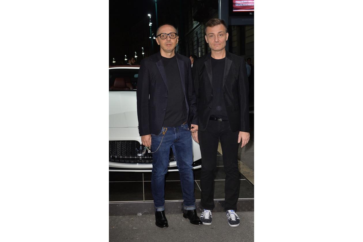 """Maserati partner ufficiale della mostra """"Vogue Archive Celebrating 50th Anniversary of Fashion"""" Tommaso Aquilano, Roberto Rimondi"""