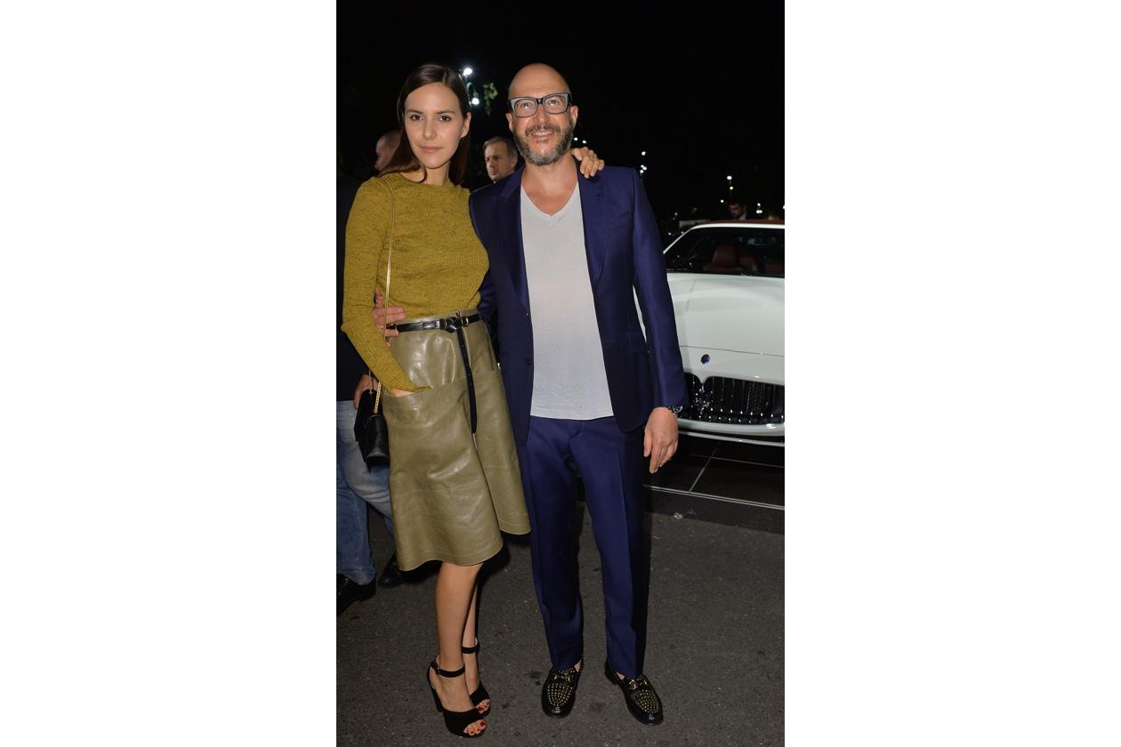 """Maserati partner ufficiale della mostra """"Vogue Archive Celebrating 50th Anniversary of Fashion"""" Vanna Quattrini, Saturnino Celani"""