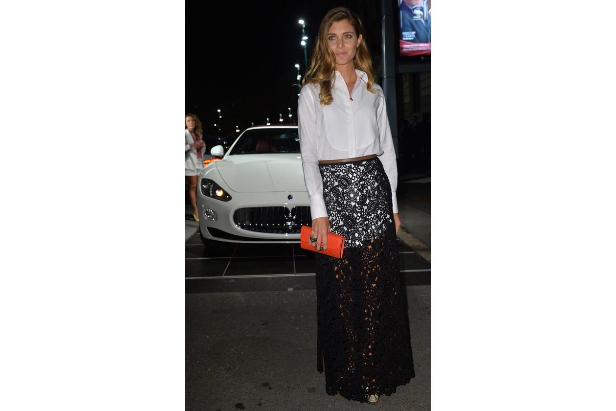 """Maserati partner ufficiale della mostra """"Vogue Archive Celebrating 50th Anniversary of Fashion"""" Vittoria Puccini"""