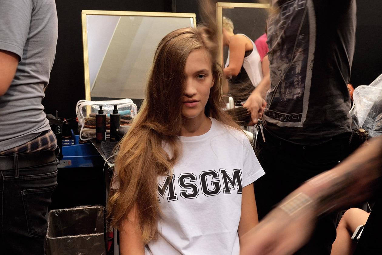 Pronta per l'hair styling