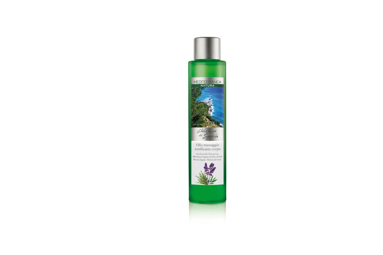 Tonic Body olio Mediterranea Terrazze di Liguria Olio Massaggio Tonificante Corpo