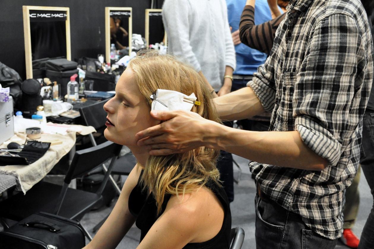 Trucco&parrucco per Anne Gaby Odiele