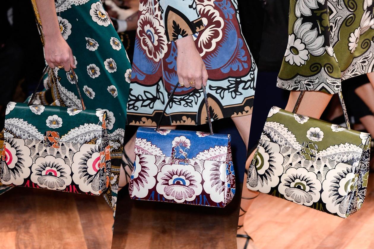 Valentino lancia le borse con stampa