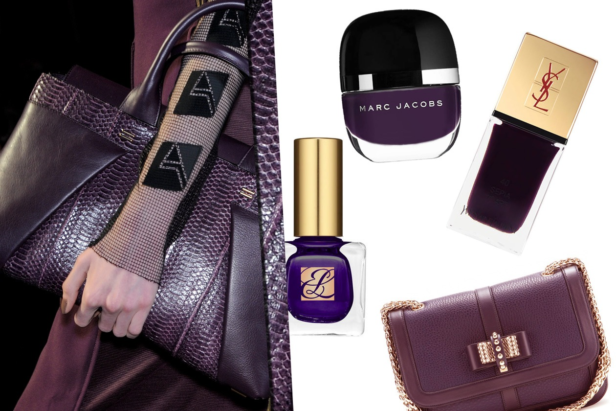collage purple