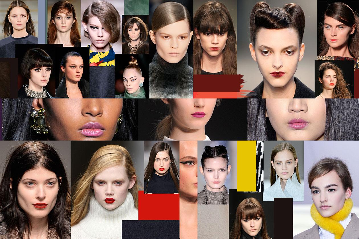 Trucco A/I 2014: tutti i trend dall'eyeliner nero ai rossetti dark