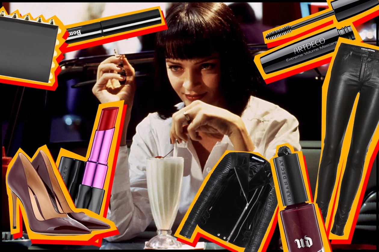 Mia Wallace: i look beauty & fashion ispirati alla protagonista di Pulp Fiction