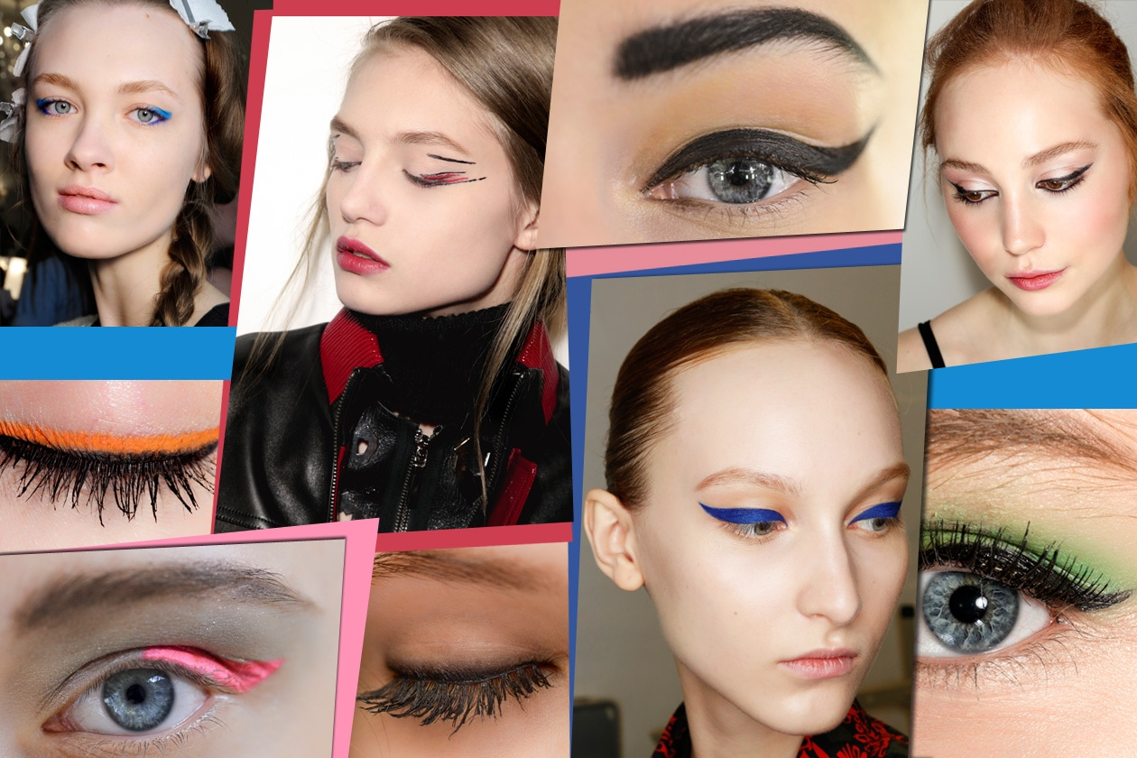 Eyeliner: tutti trend make up Autunno/Inverno 2014/15 dalle sfilate