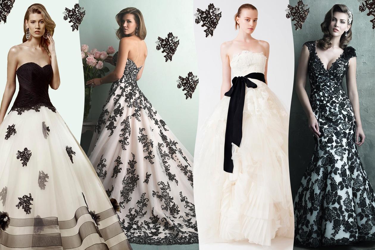 Eccezionale L'abito da sposa è nero - Grazia.it HT24