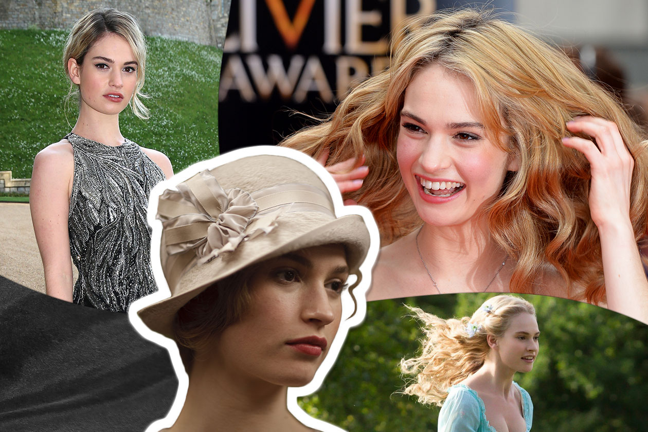 Beauty Lily james beauty 00 Cover collage