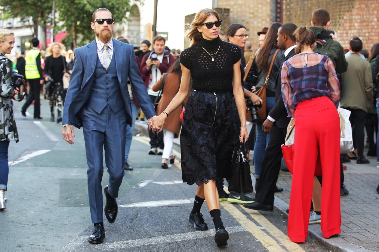 london fashion week justin o shea veronika heilbrunner streetstyle hg temp2 l full l