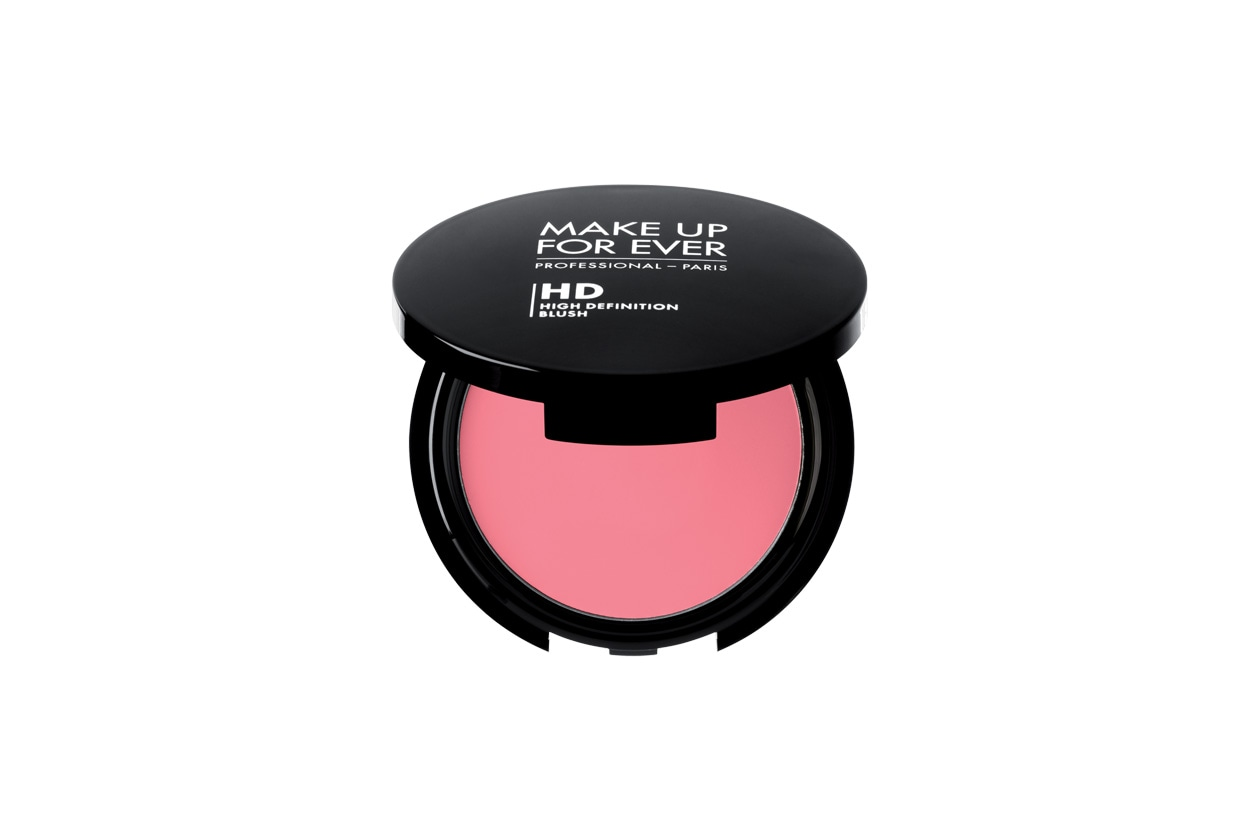 make up for ever hd blush peachy pink
