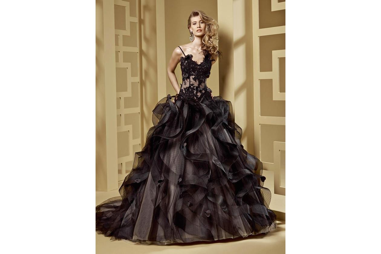 nicole spose ROAB15844BK Romance moda sposa 2015 56