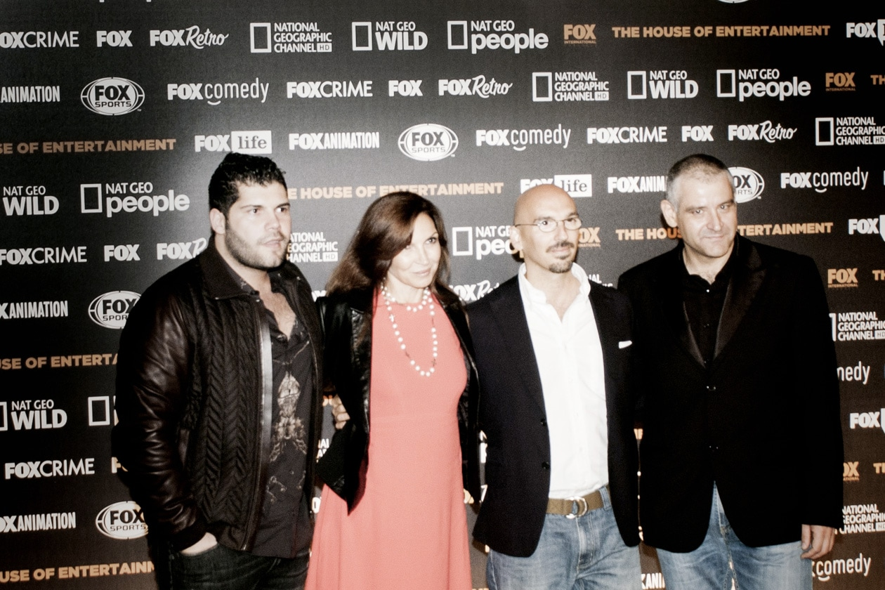salvatore esposito maria pia calzone alessandro militi (vice president mark. and sales fox ch.) cerlino fortunato