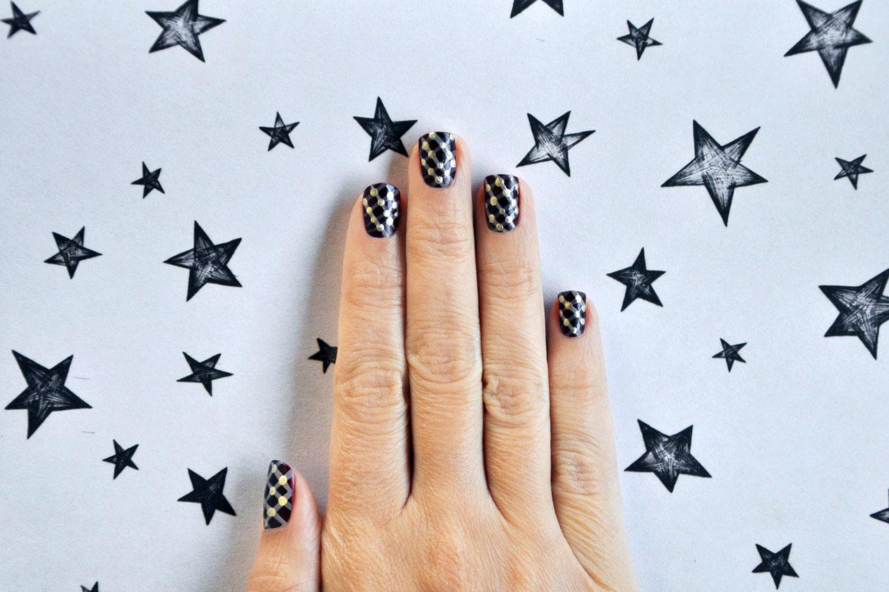 10 Matelasse Nail Art