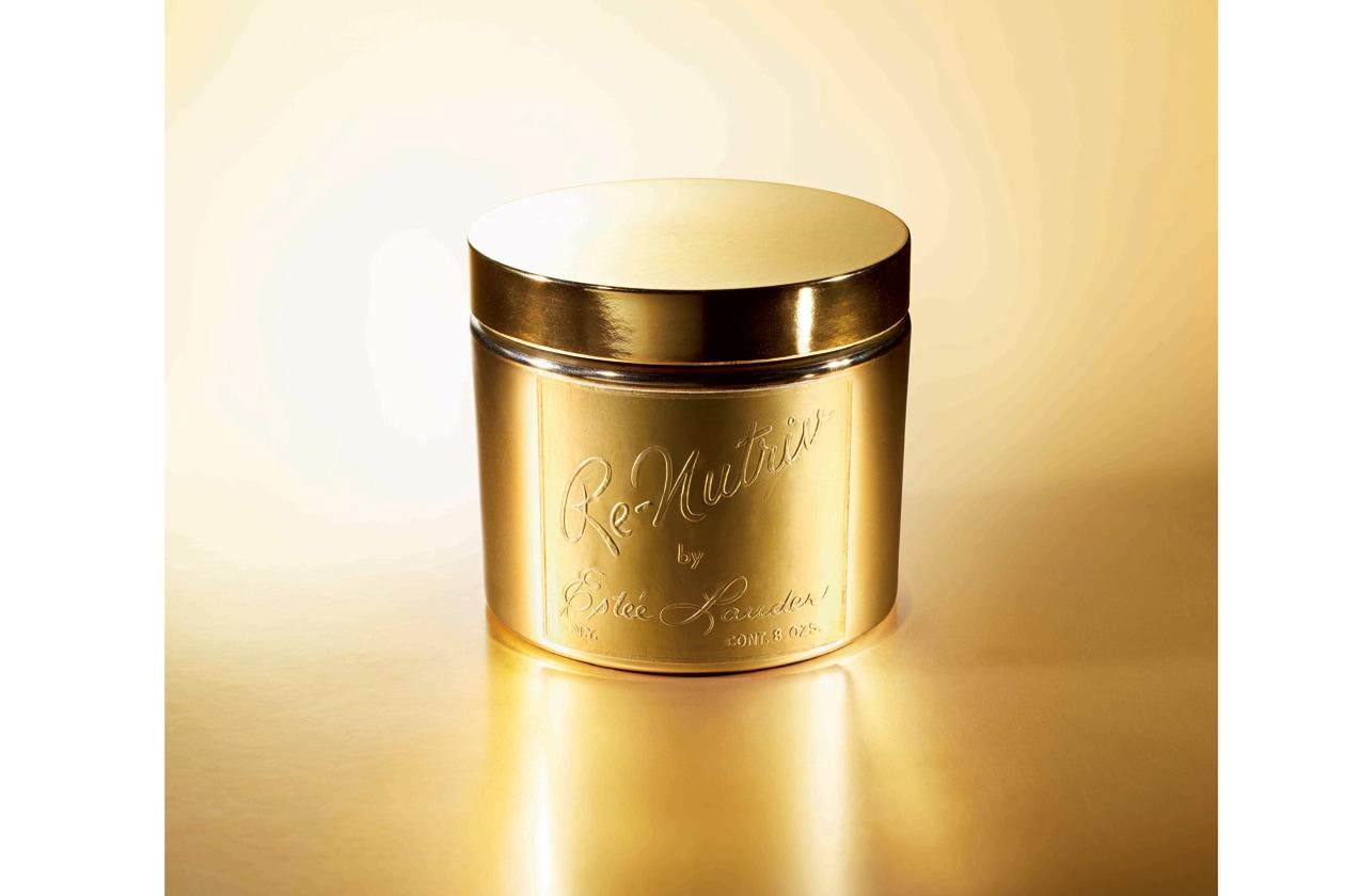 1958: la signora Lauder presenta, per la prima volta, l'originaria cream Re-Nutritiv formata da 26 ingredienti purissimi e preziosi