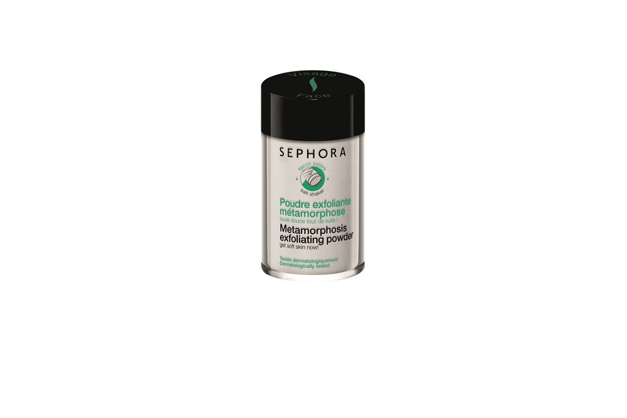 7 Beauty Lily James Make Up polvere esfoliante sephora
