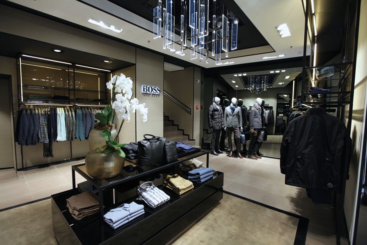 BOSS Flagship Stores Rome 05