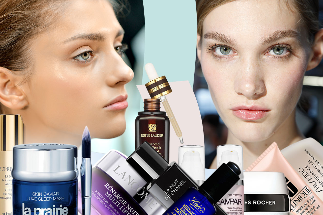 Beauty Beauty routine by night 00 Cover collage