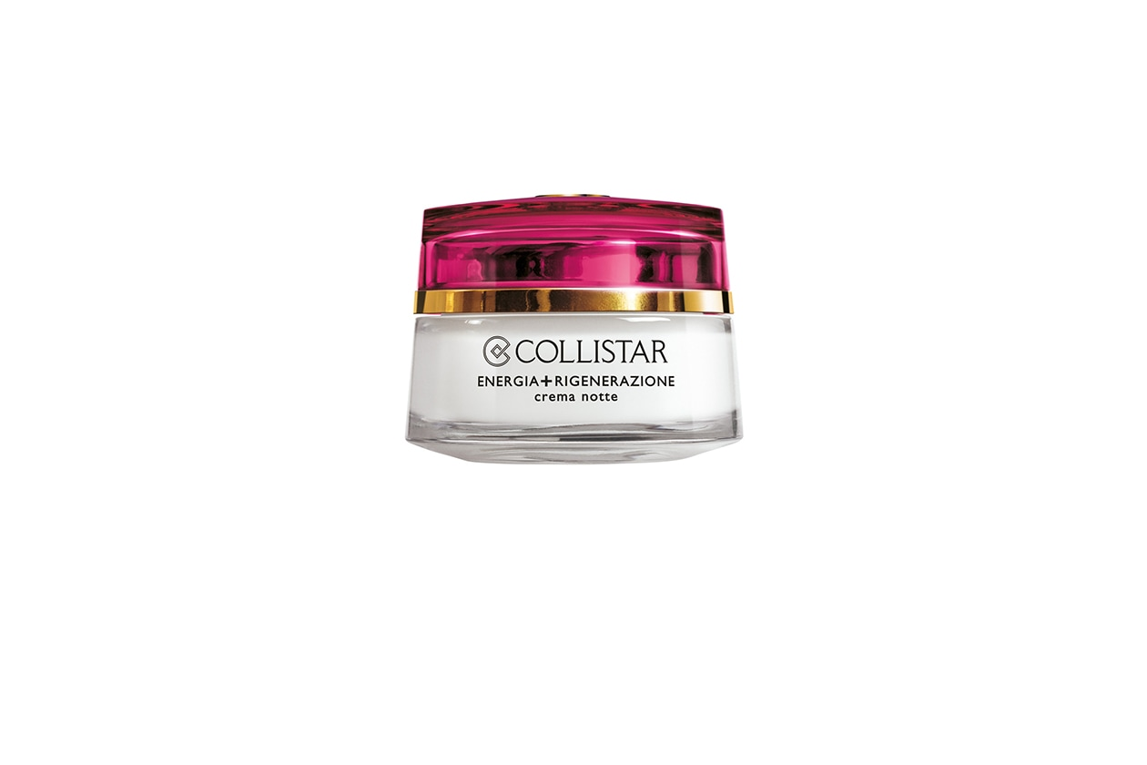 Beauty Beauty routine by night Collistar Speciale Prime Rughe Crema Notte Energia Rigenerazione