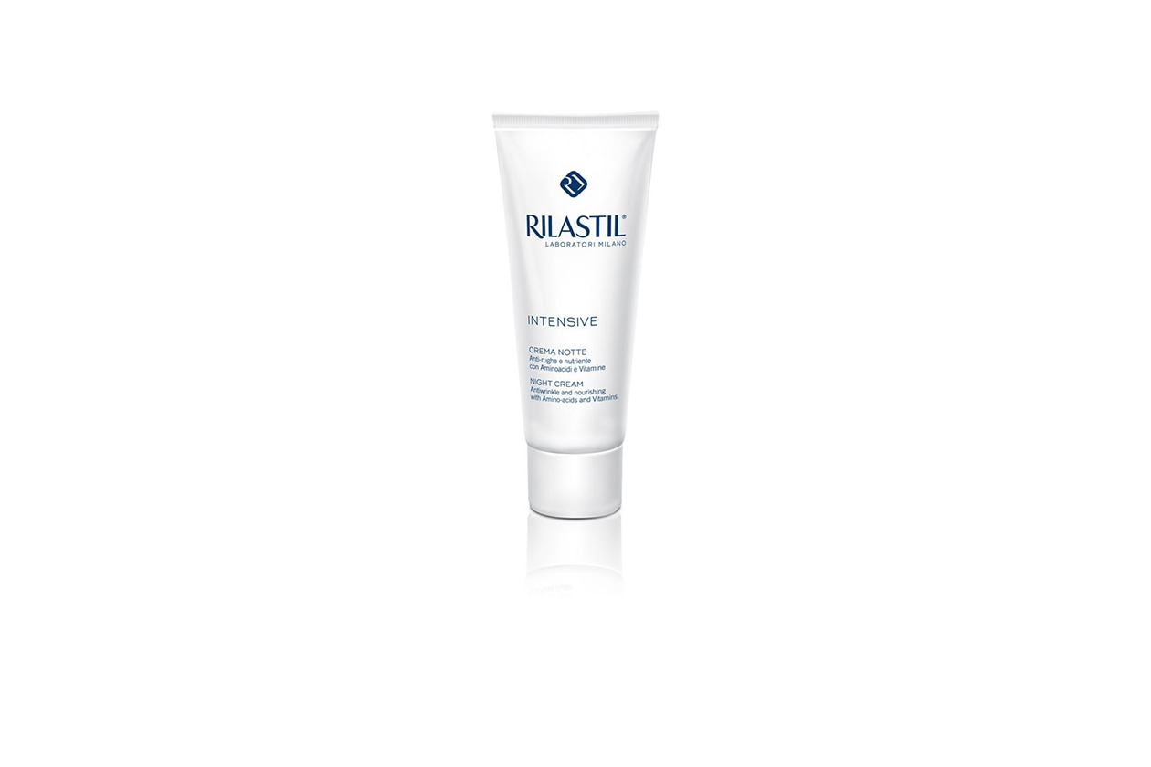 Beauty Beauty routine by night l rilastil intensive crema notte