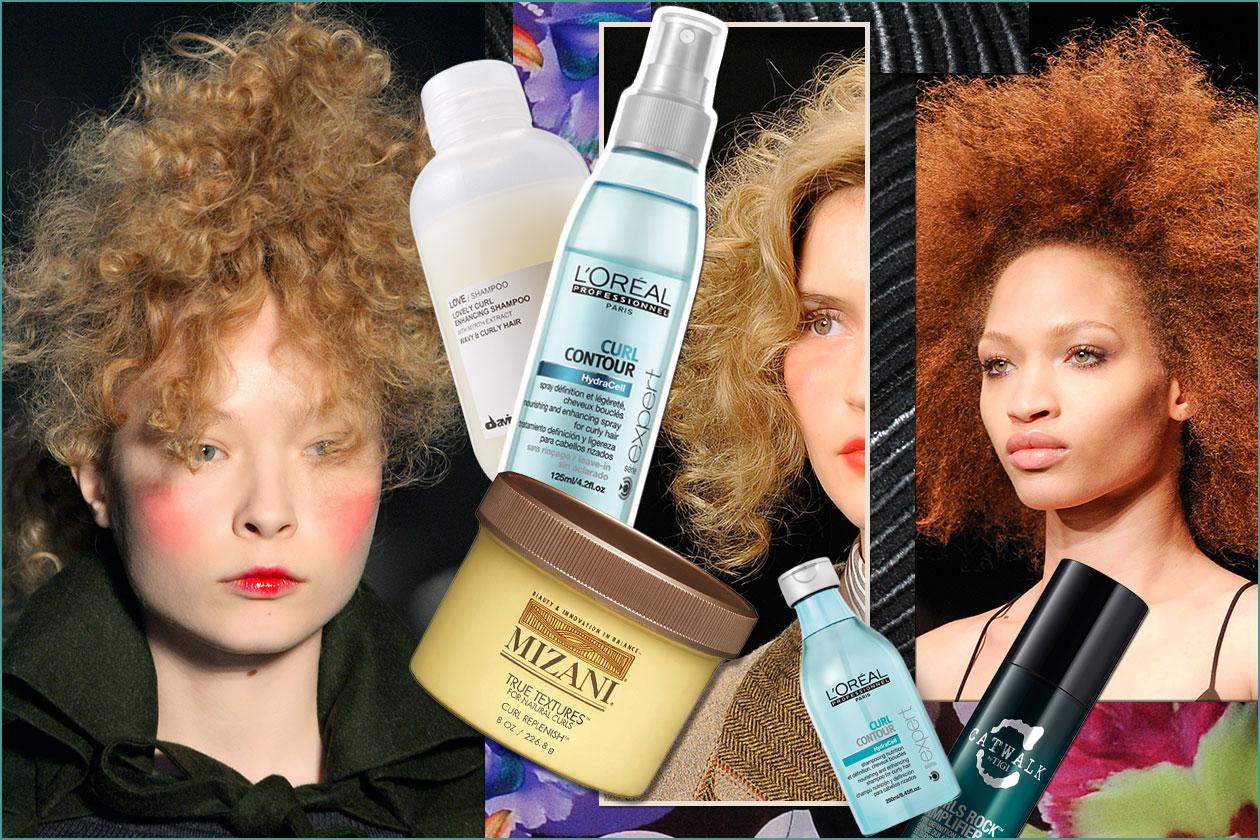 Beauty Capelli Ricci da Sfilate e Prodotti 00 Cover collage