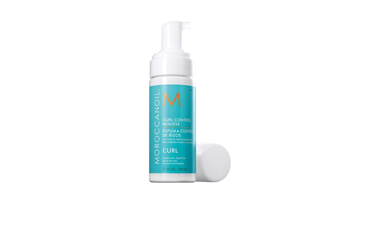 Beauty Capelli Ricci da Sfilate e Prodotti Moroccanoil Curl Control Mousse 150ml 1367918213