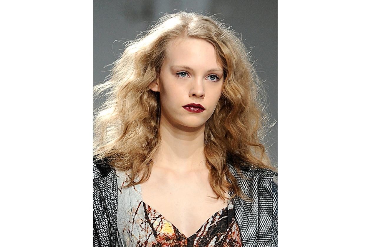 Beauty Capelli Ricci da Sfilate e Prodotti Tracy Reese bty W F14 N 001