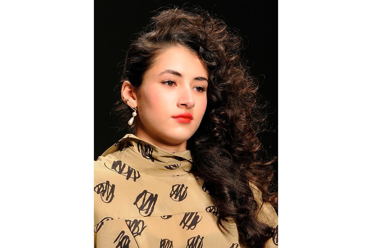 Beauty Capelli Ricci da Sfilate e Prodotti Westwood Red Label bty W F14 L 007