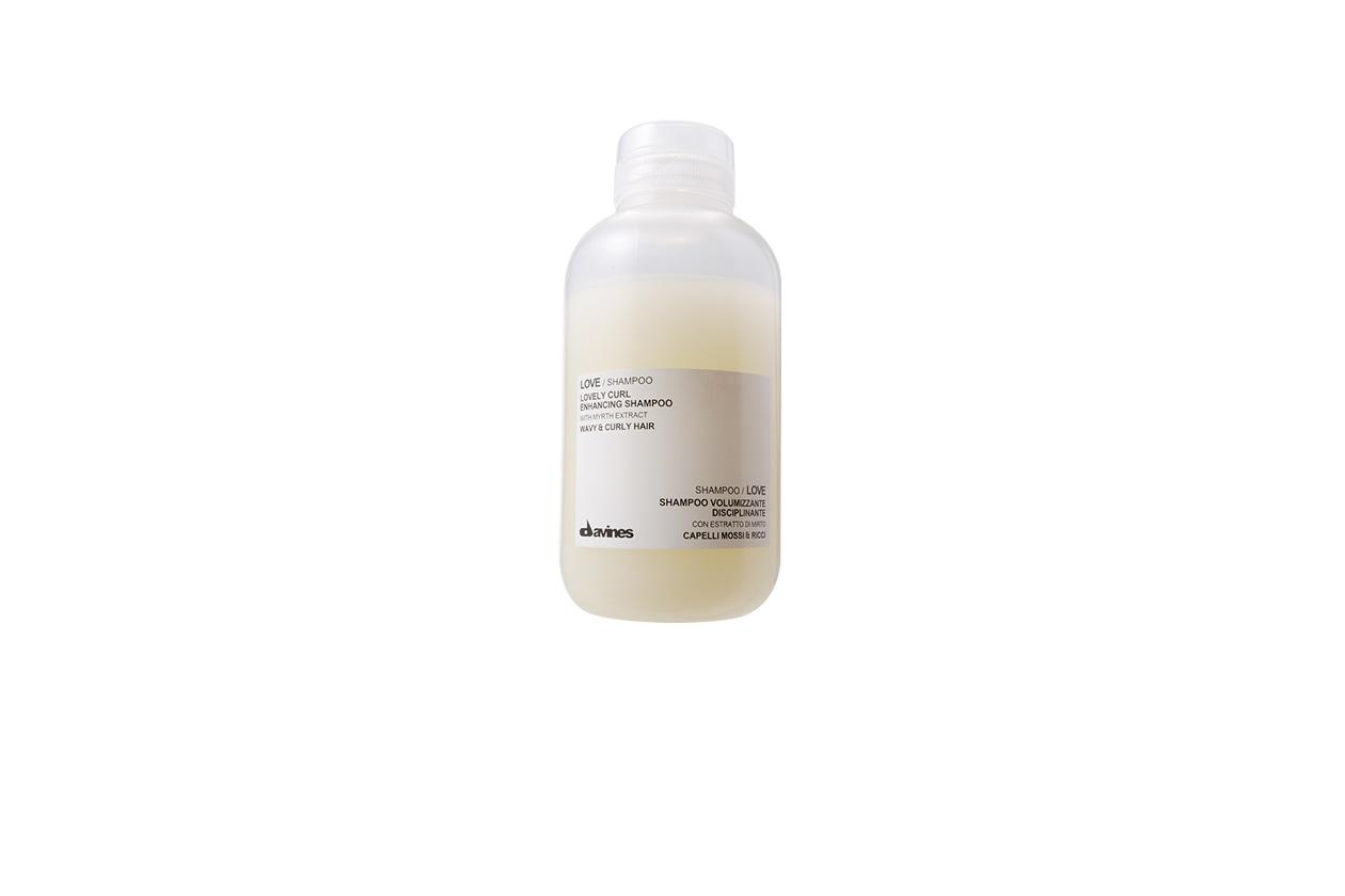 Beauty Capelli Ricci da Sfilate e Prodotti davines Love Curl Enhancing Shampoo