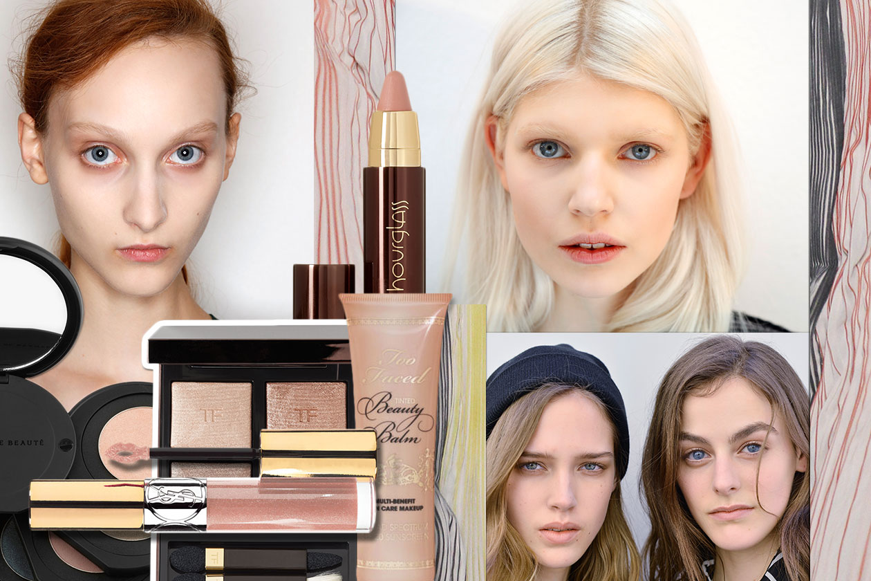 Beauty NATURAL MAKE UP 00 Cover collage