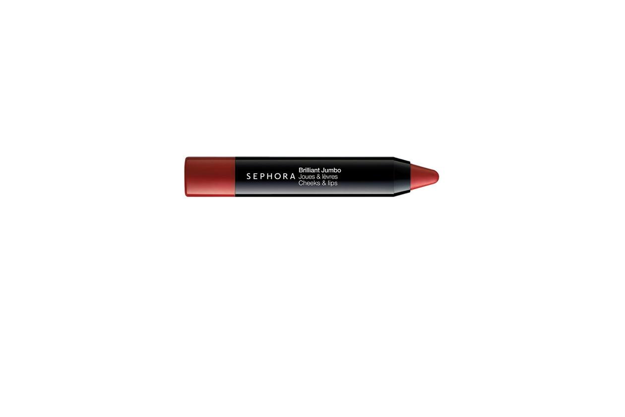 Brilliant Jumbo in Royal Rapsberry di Sephora è un prodotto 2-in-1 per guance e labbra