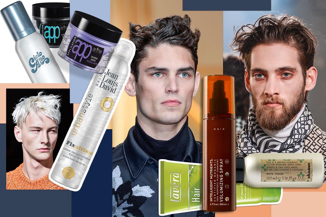 Capelli uomo: il ciuffo è trendy anche per la stagione autunno/inverno 2014-15. La selezione di Grazia.IT direttamente dalle passerelle e i prodotti consigliati. Scegliete il vostro hair look!