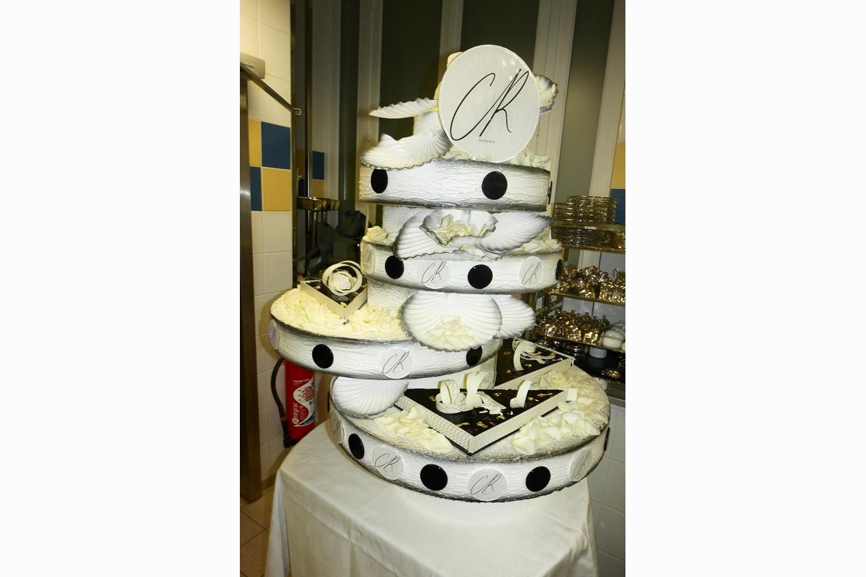 Carine Roitfeld's birthday cake