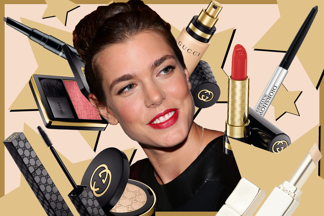 Charlotte Casiraghi beauty look