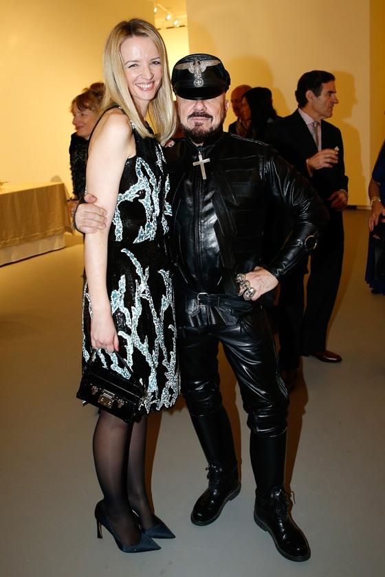 Delphine Arnault in Louis Vuitton Peter Marino