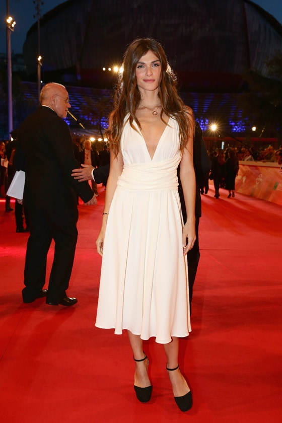 ELISA SEDNAOUI IN VALENTINO getty