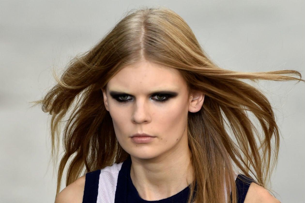 Elegantissimo il make up occhi di Chanel