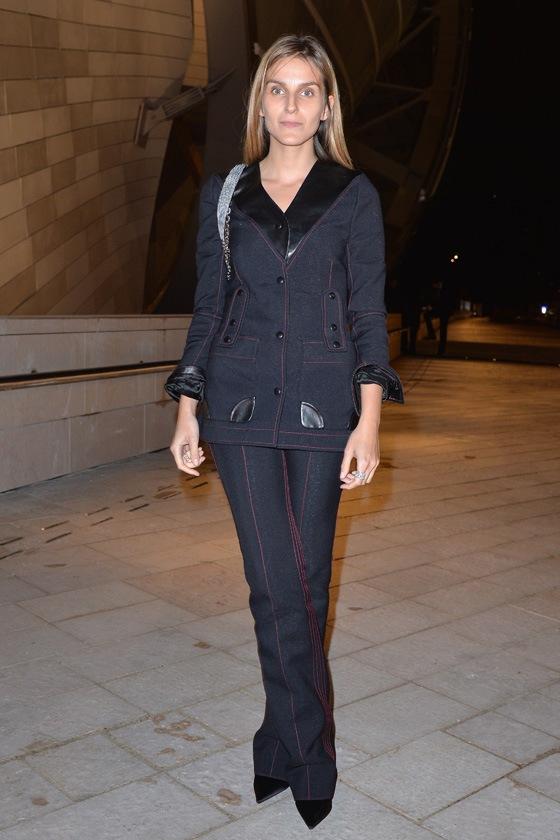 Gaia Repossi in Louis Vuitton