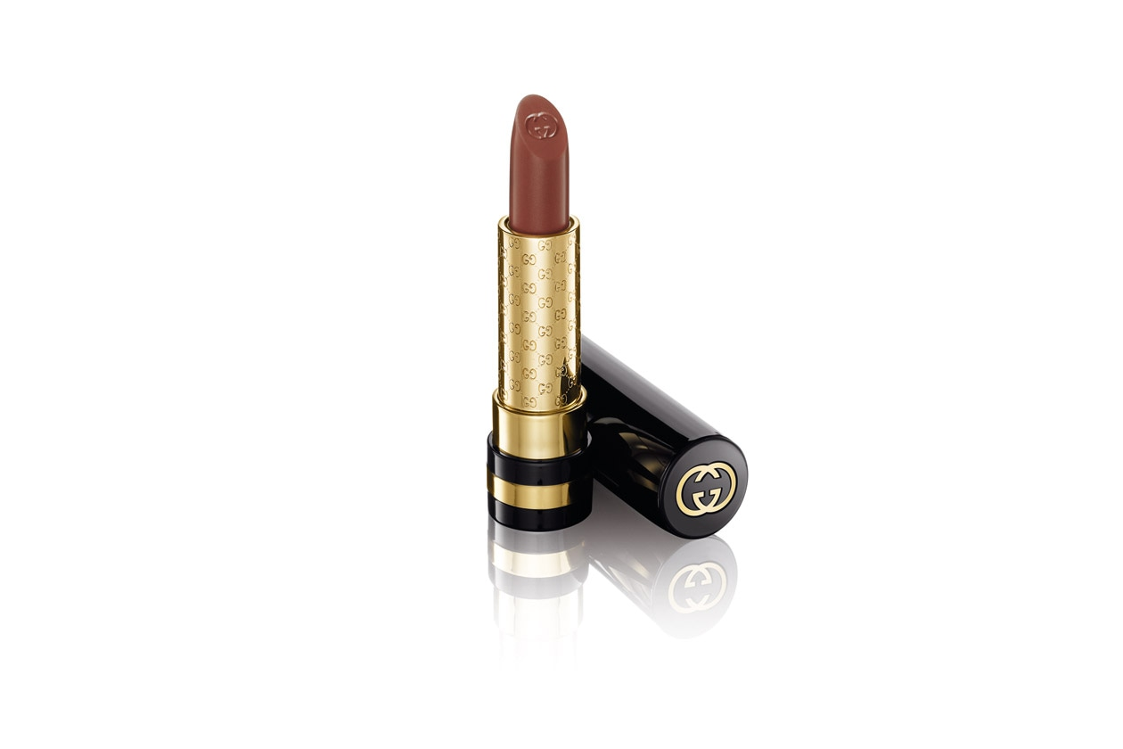 Gucci Lips Audacious Color Intense Lipstick 210 Metallic Sand