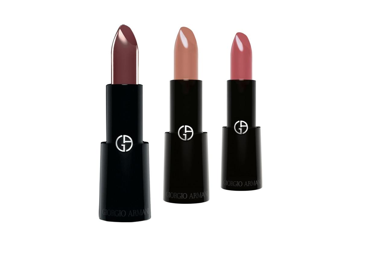 I nuovi rossetti Rouge d'Armani, per labbra delicate