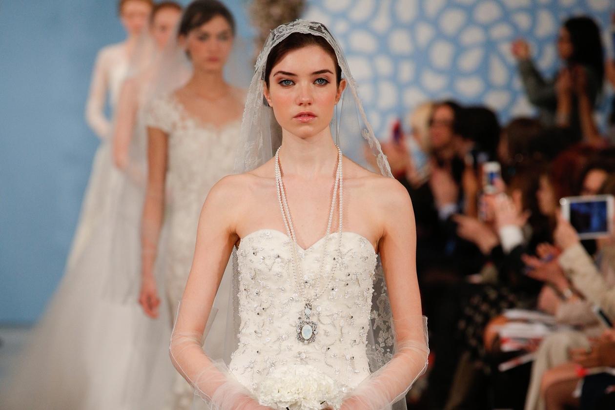 Il lancio della bridal collection