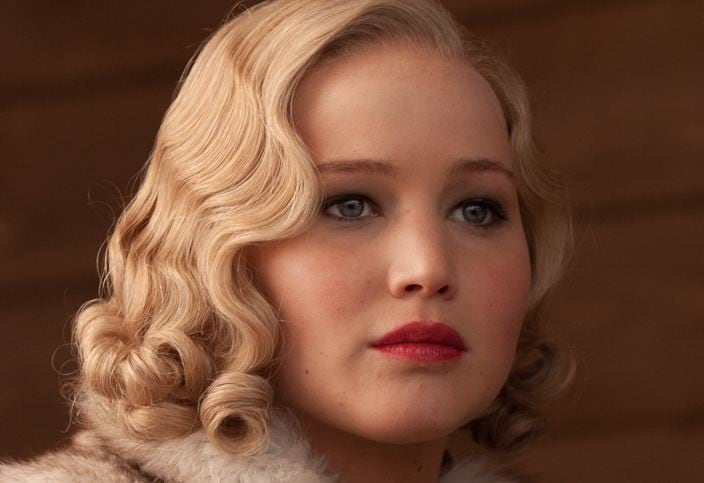 Jennifer Lawrence: Roaring Twenties make up