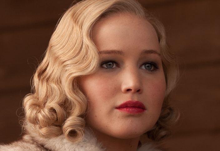 Jennifer Lawrence: Roaring Twenties make up