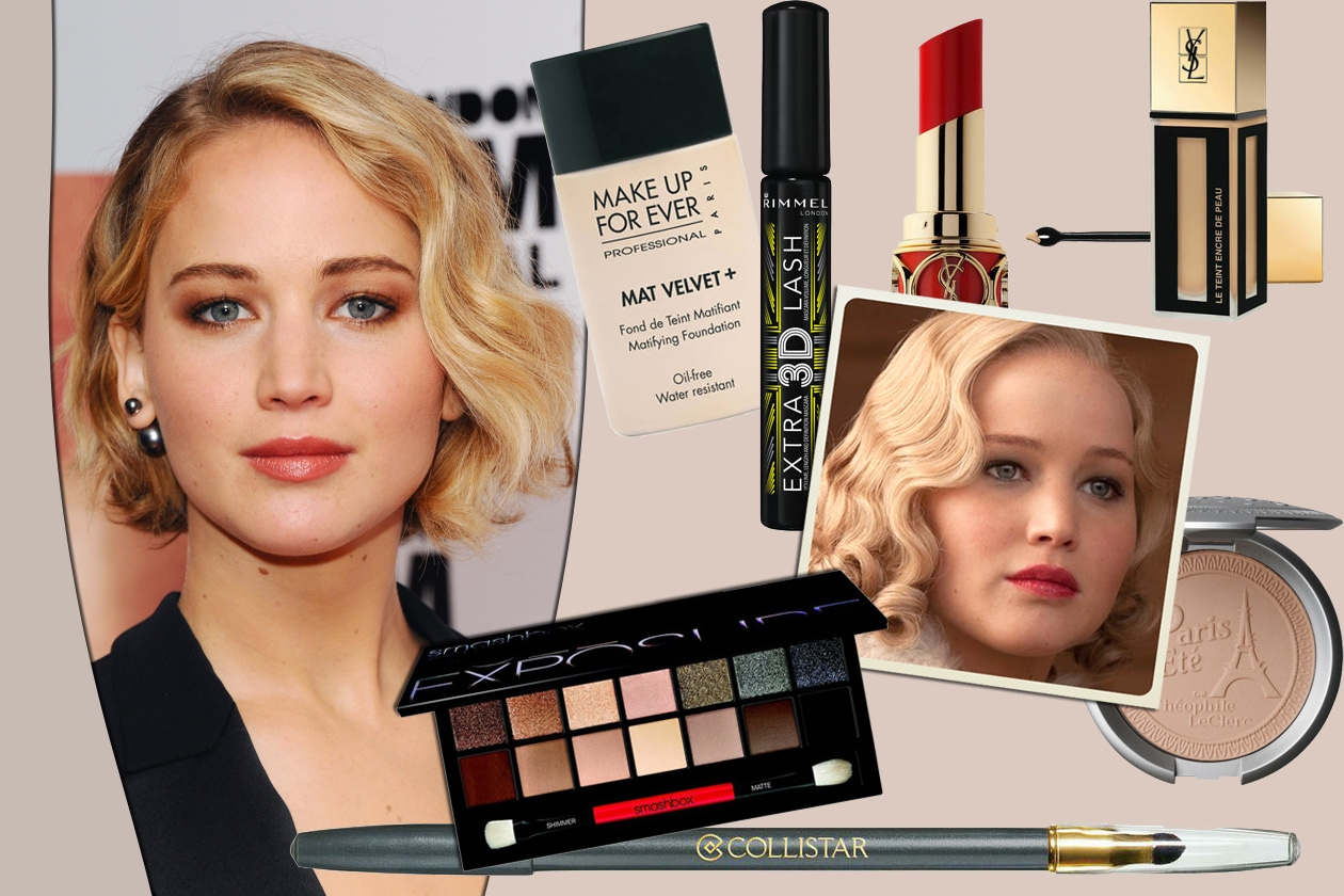 Jennifer Lawrence: get the beauty Look!
