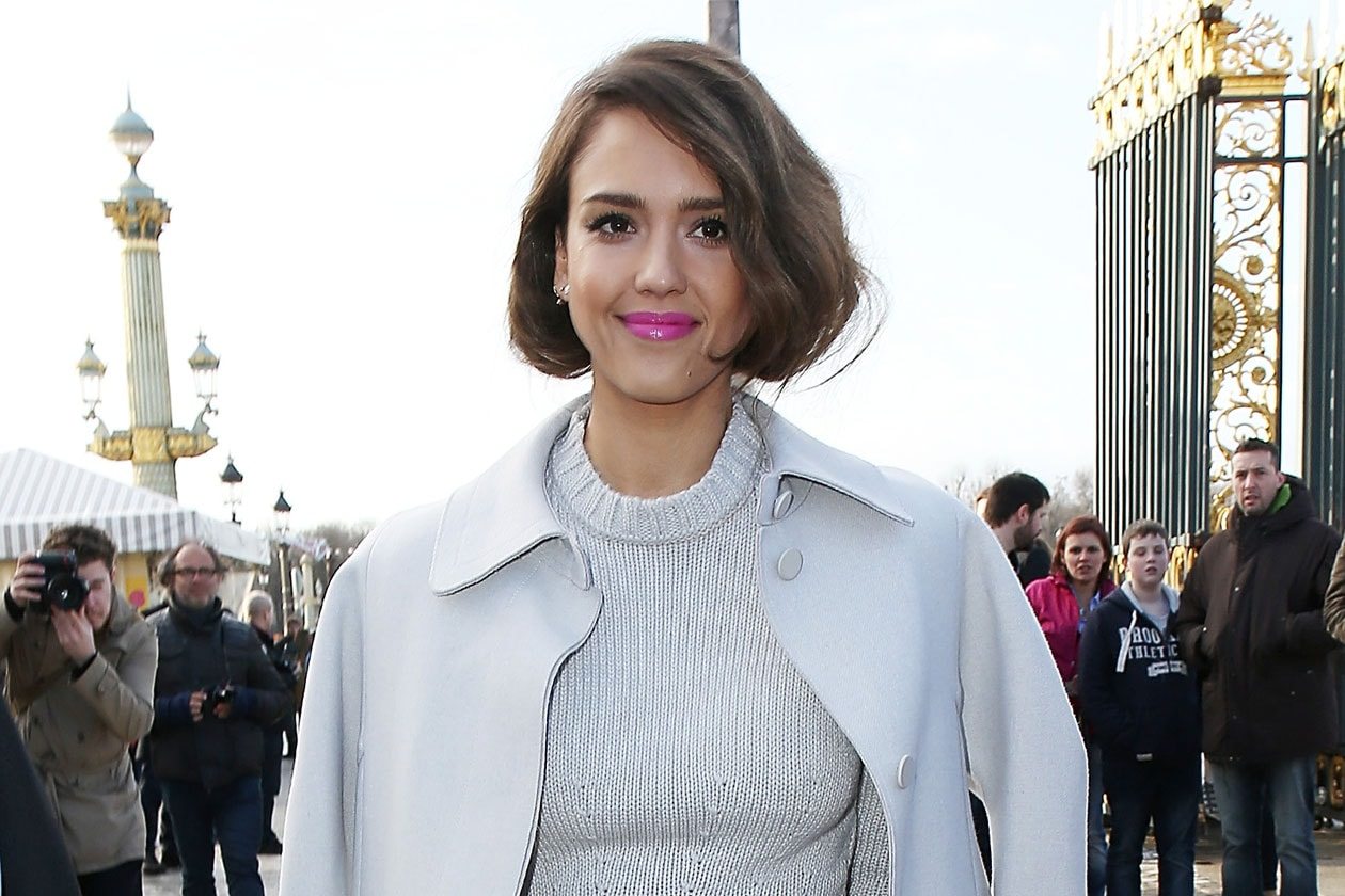 Jessica Alba: rossetto pink candy
