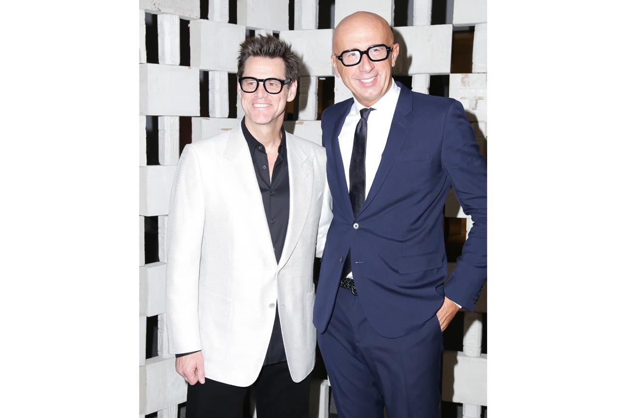Jim Carrey & Marco Bizzarri