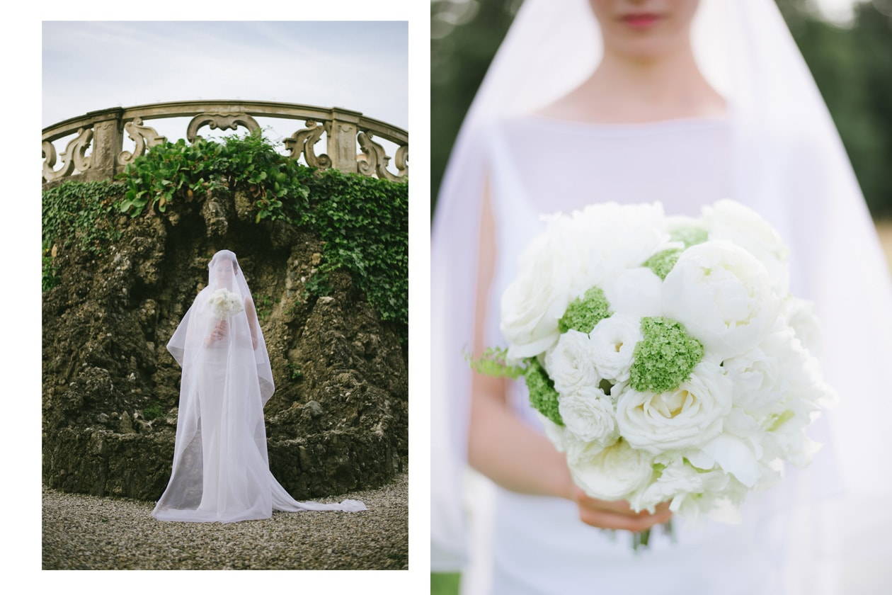 L'abito e il bouquet