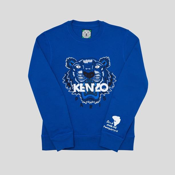 La felpa Kenzo in collaborazione con Blue Marine Foundation